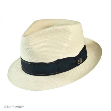Biltmore Westend Shantung Straw Fedora Hat