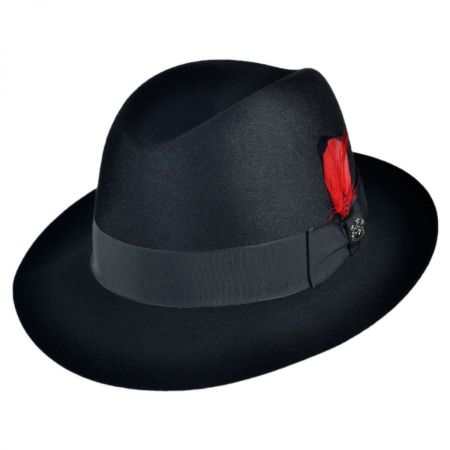 Chicago Fur Felt Fedora Hat alternate view 13
