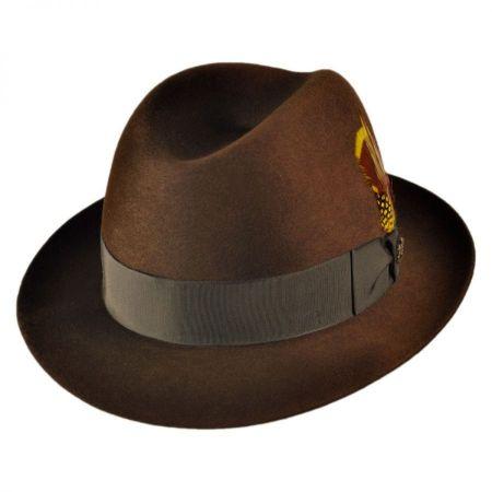 Chicago Fur Felt Fedora Hat alternate view 5