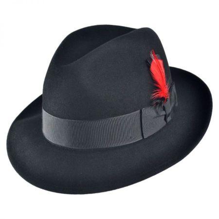 Stingy Brim Leather at Village Hat Shop 66fc735753d