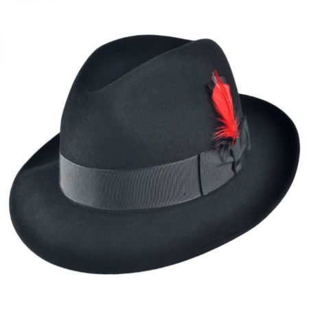 Florence Fur Felt Fedora Hat alternate view 14