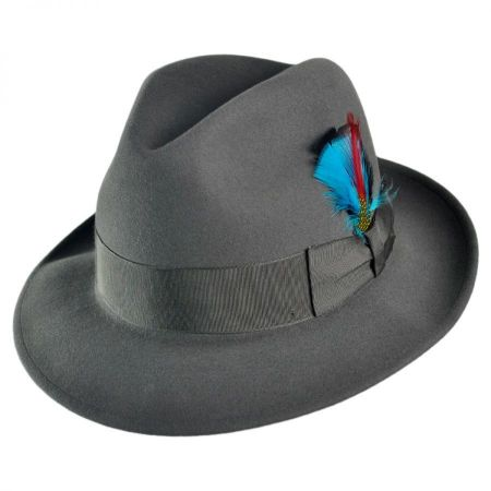 Florence Fur Felt Fedora Hat alternate view 9
