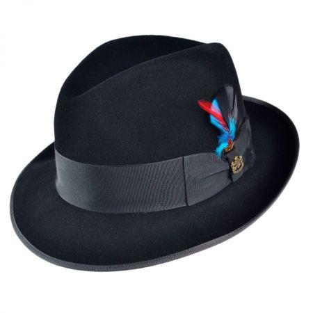 Lisbon Fur Felt Fedora Hat alternate view 1
