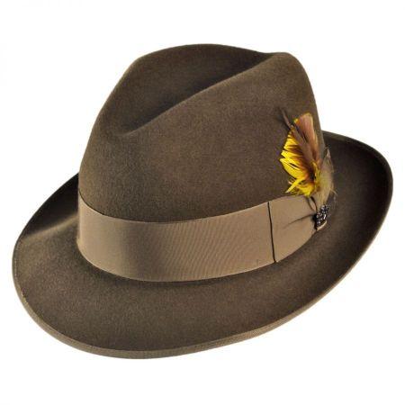Lisbon Fur Felt Fedora Hat alternate view 6