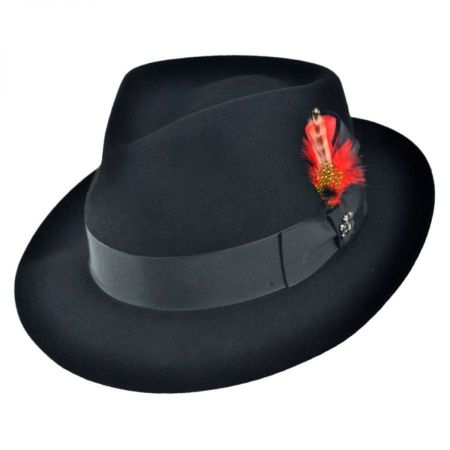 Naples Fur Felt Fedora Hat alternate view 5