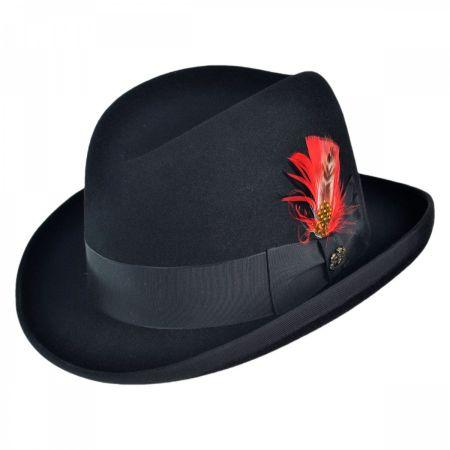 Winston Fur Felt Homburg Hat alternate view 1