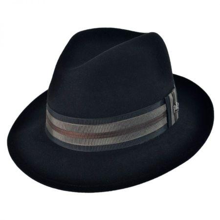 Uptown Wool Felt Fedora Hat alternate view 1