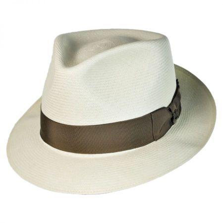 Montreal Imperial Premium Panama Fedora Hat alternate view 9