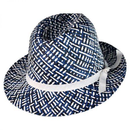 Gottex Anguilla Toyo Straw Fedora Hat