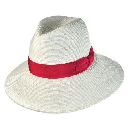 Alhambra Toyo Straw Fedora Hat alternate view 1