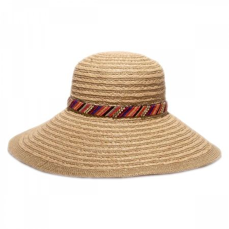 Gottex Marrakesh Raffia Straw Sun Hat