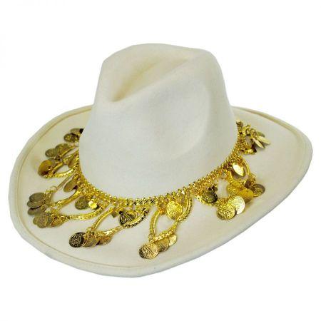 Gottex Taj Wool Felt Fedora Hat