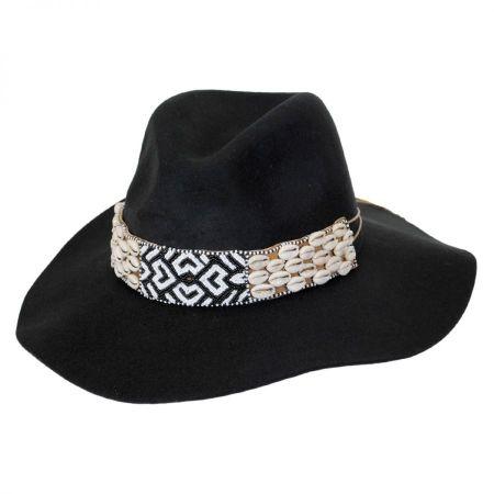 Seri Bead Band Wool Felt Fedora Hat alternate view 1