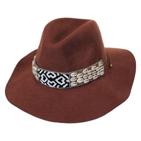 Seri Bead Band Wool Felt Fedora Hat alternate view 5