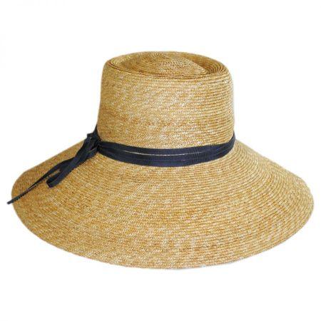 Gottex Capri Milan Straw Wide Brim Sun Hat