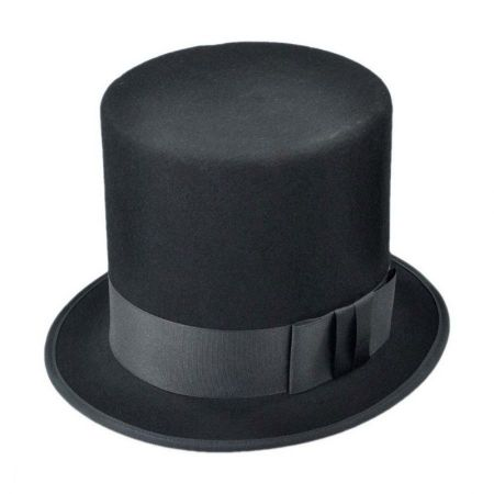 Abraham Lincoln Wool Felt Top Hat - Made to Order alternate view 9