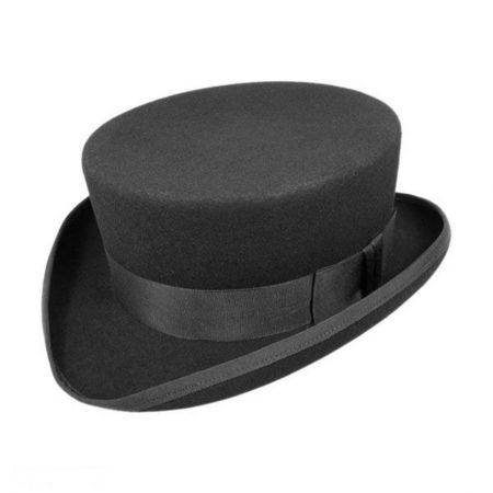 Hatcrafters John Bull Wool Felt Topper Hat - Made to Order