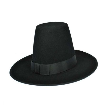 Hatcrafters Plymouth Wool Felt Pilgrim's Hat