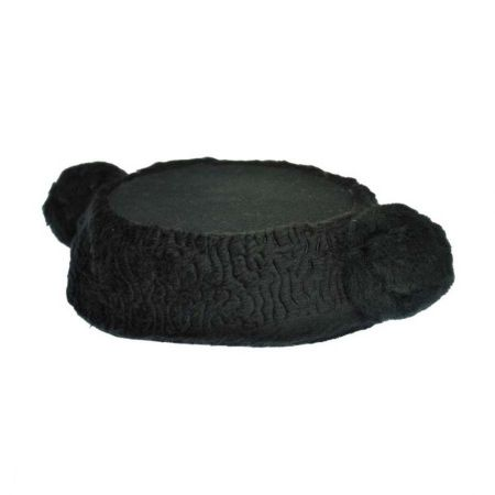 Hatcrafters Toreador Wool Brocade Cap with Poms