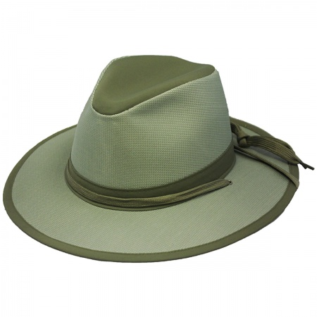 Olive Green Fedora at Village Hat Shop 6ae917441