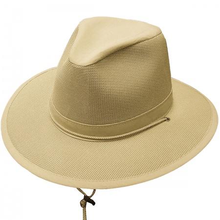 Breezer Ultralite Aussie Fedora Hat - 3X alternate view 2