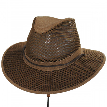 Packable Mesh Aussie Fedora Hat alternate view 5