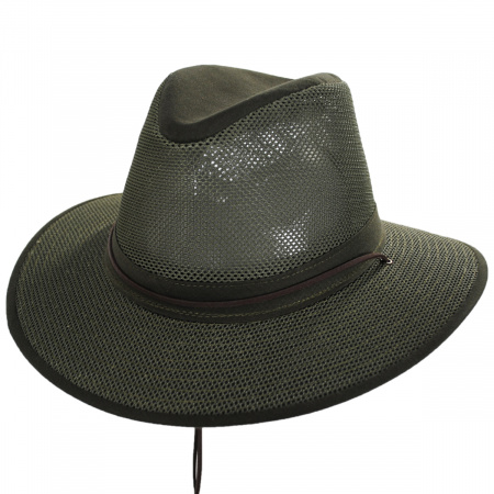 Packable Mesh Aussie Fedora Hat alternate view 10