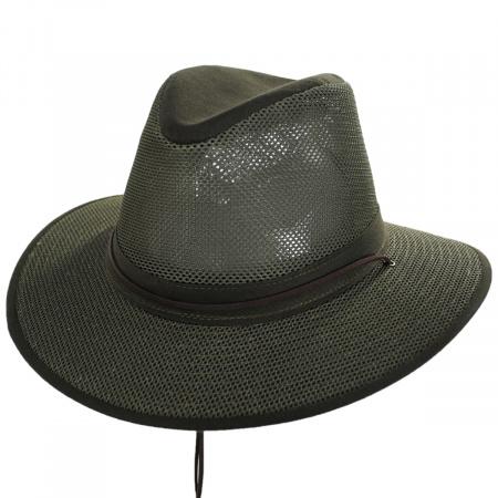 Henschel Packable Mesh Aussie Fedora Hat