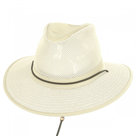 Packable Mesh Aussie Fedora Hat alternate view 90
