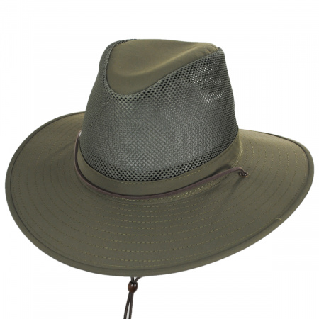 Solarweave Mesh Aussie Fedora Hat alternate view 1