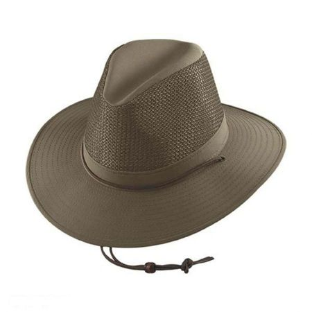 Solarweave Mesh Aussie Fedora Hat - 2X alternate view 1