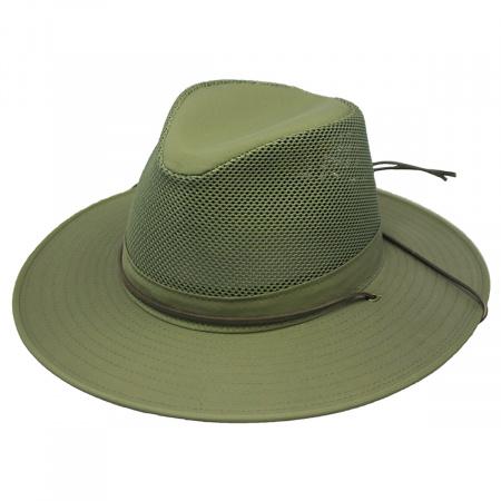 Solarweave Mesh Aussie Fedora Hat - 3XL alternate view 1