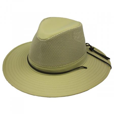 Henschel Solarweave Mesh Aussie Fedora Hat - 3XL