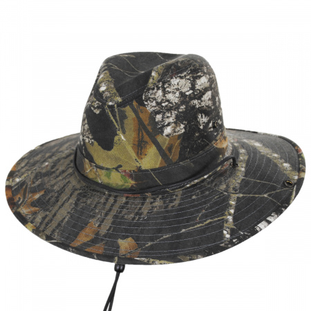 Henschel Mossy Oak Camouflage Aussie Fedora Hat