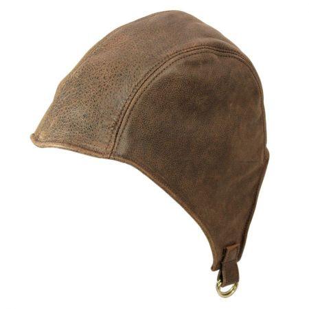 Henschel Leather Aviator Helmet