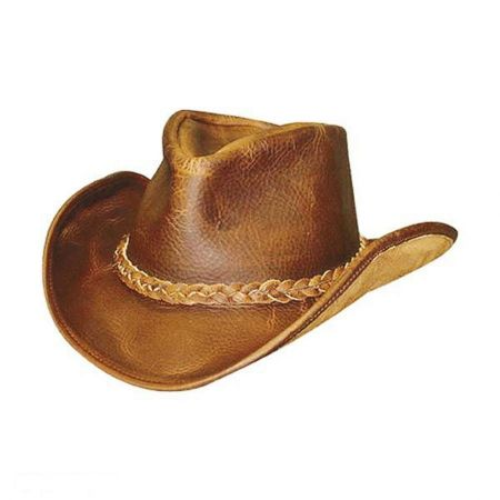 Walker Raging Bull Leather Western Hat alternate view 2