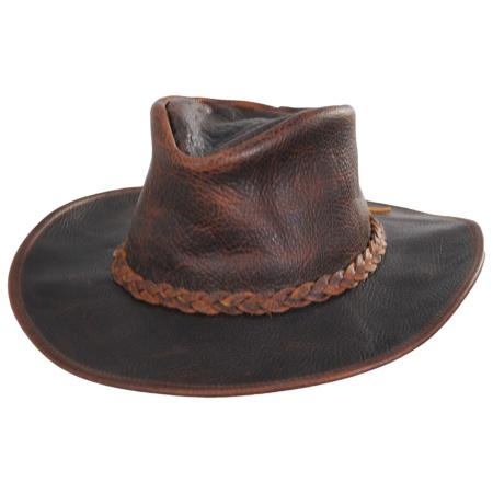 Henschel Walker Raging Bull Leather Western Hat