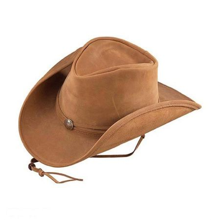 Walker Conche Band Leather Western Hat alternate view 2
