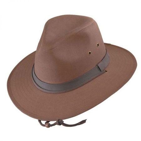 Henschel Oilcloth Cotton Outback Hat