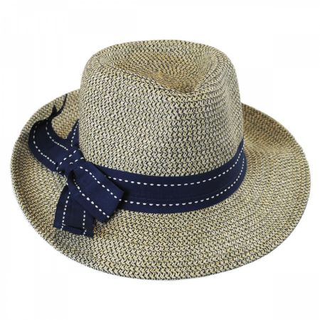 Rich Pitch Toyo Straw Fedora Hat alternate view 3