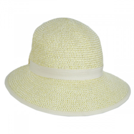 Physician Endorsed Pitch Perfect Framer Toyo Straw Cloche Hat