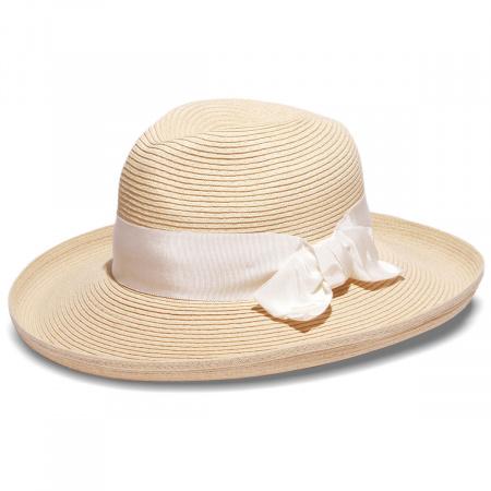 Physician Endorsed Adriana Toyo Straw Fedora Hat