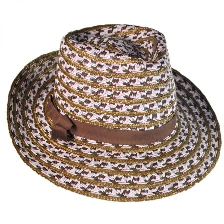 Physician Endorsed Cypress Toyo and Milan Straw Fedora Hat
