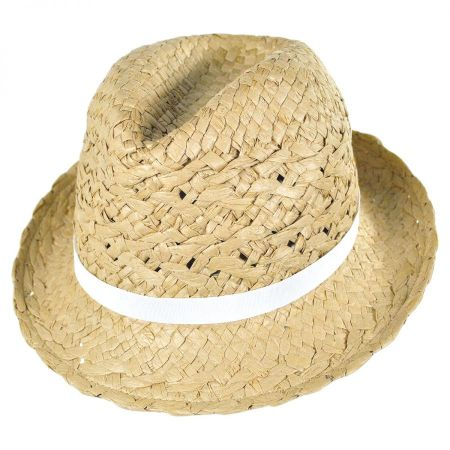 Cabo Toyo Straw Fedora Hat alternate view 5