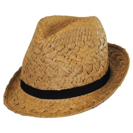 Cabo Toyo Straw Fedora Hat