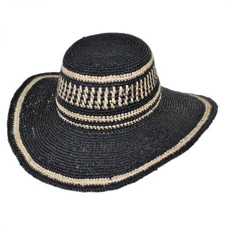 ale by Alessandra Makuna Raffia Straw Sun Hat