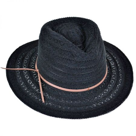 ale by Alessandra Leather and Lace Cowboy Hat