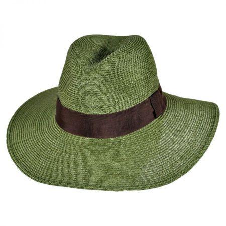 ale by Alessandra Bel Air Hemp Straw Fedora Hat