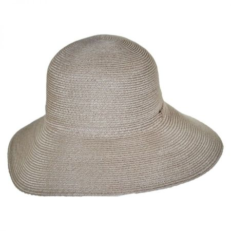 Brentwood Hemp Straw Lampshade Hat alternate view 5