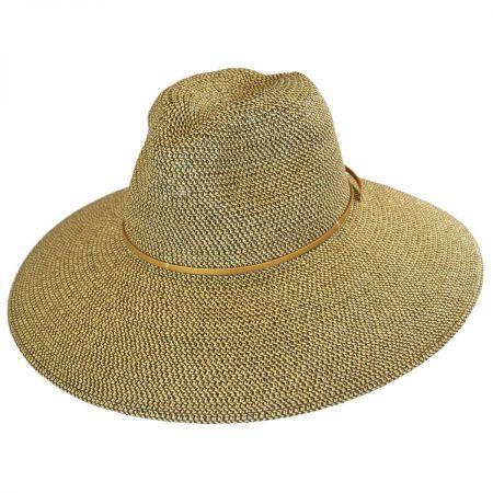 ale by Alessandra Sancho Toyo Straw Fedora Hat